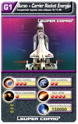 Carta Super Copag espacial