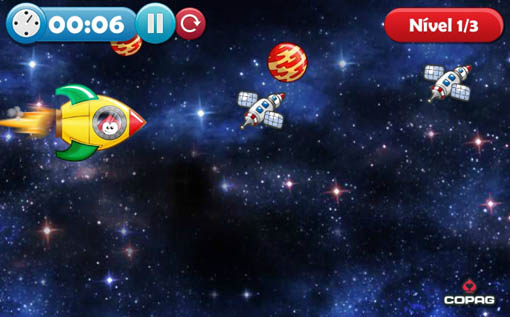 Viajando no espaço