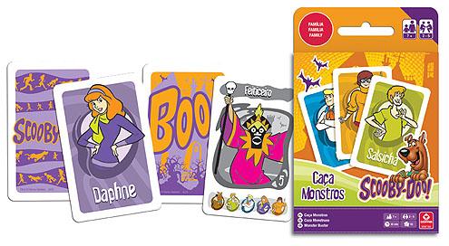 Jogo Caça-monstros do Scooby-Doo! da Copag